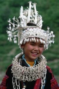 China, AShidong Miao girl